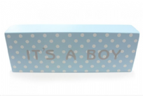 IT'S A BOY ~ New Baby Plaque